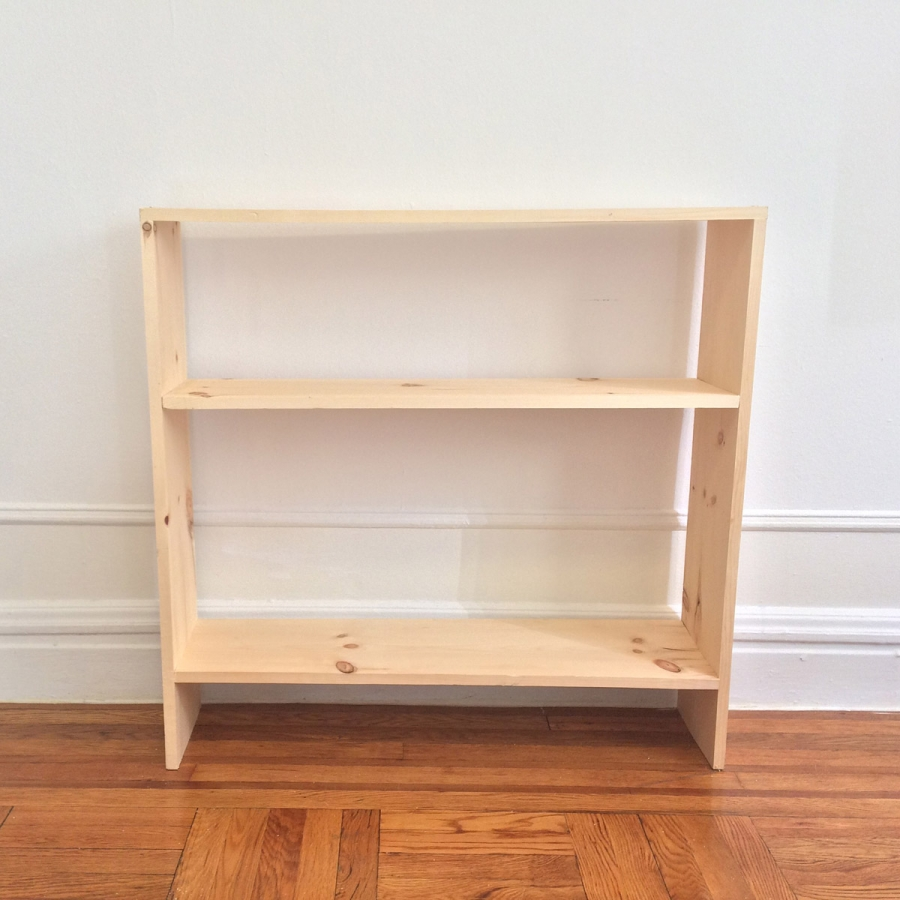"""""""Donald Judd Designed A Bookcase Kinda Like This But His Was Way Better"""" 2017, pine, wood screws"""